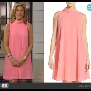 Vince Camuto mock neck Trapeze Dress | Seen on TV